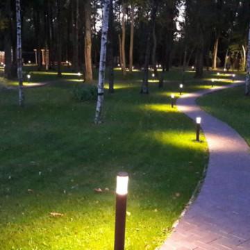 Петровский Парк в сумерках